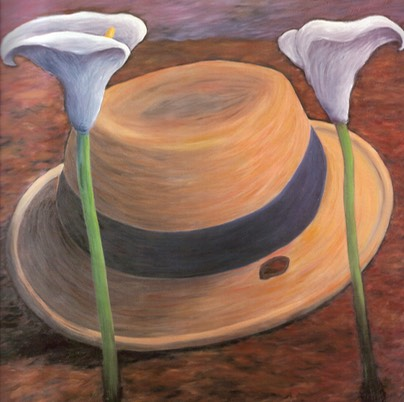 micky donnelly Connolly's Hat With Lilies.jpg copy 1