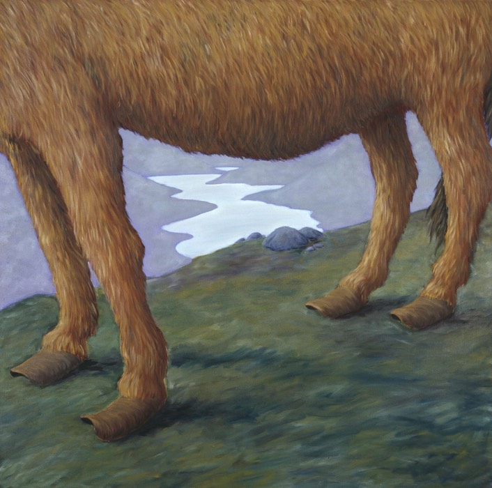 micky donnelly Landscape with Donkey's Feet (Henry's Dawn)